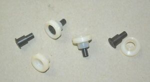 Chevy Cadillac Camaro Truck C K 1957 1972 Window Rollers Plus Rivets Set Of 4