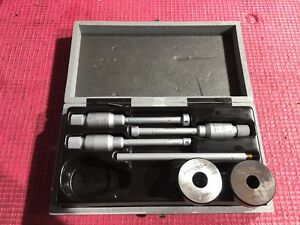 Brown Sharpe Intrimik Bore Holtest Inside Micrometer 275 To 500 In W 2 Ring
