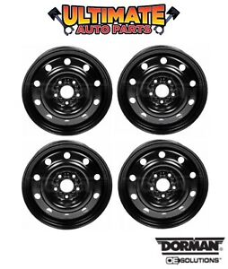 Steel Wheel Rim 17 Inch Wheels set Of 4 For 13 18 Dodge Grand Caravan