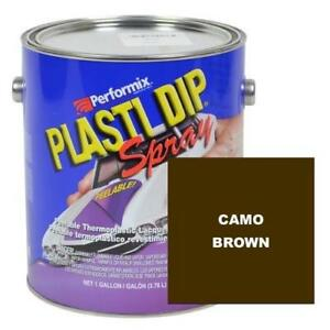 Plasti Dip Spray 1 Gallon Can Ready To Spray Matte Camo Brown