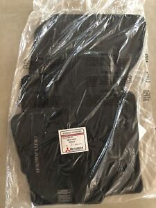 2014 2018 Mitsubishi Outlander Factory Floor Mat Set New In Package
