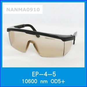 Od5 10600nm Yag Laser Protective Goggles Safety Glasses Eyewear Ce W Box