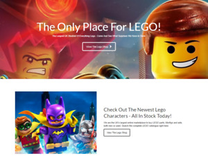 Lego Products Website Earn 93 21 A Sale free Domain free Hosting free Traffic