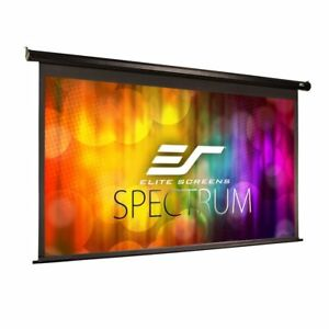 Elite Screen Electric110h Spectrum Series 110 16 9 Maxwhite Projector Screen