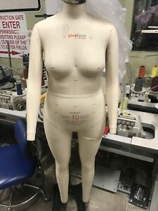 Alva Form By Alvanon Full Body Dress Form Sz 10 Norma The Best Of The Best