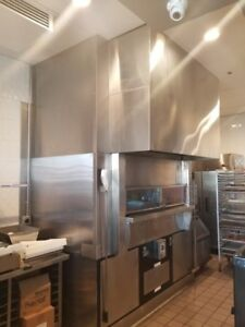Commercial Pizza Oven Wood Stone Fire Deck 8645
