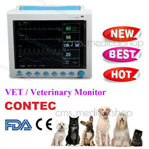 Veterinary Patient Monitor icu Ccu Vital Sign Cardiac Medical Portable Machine