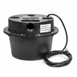 Little Giant 506065 Submersible Utility Pump Water Removal System sink Drain