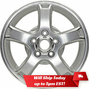 New Set Of 4 16 Alloy Wheels Rims And Centers For 2000 2007 Chevrolet Impala