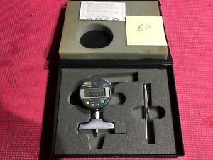 Mitutoyo 8 Inch Digital Depth Indicator Model 547 217 2 5 In Base Machinist Tool