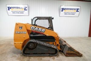 2013 Case Tr270 Skid Steer Track Loader 70 Hp Two Speed Ride Control