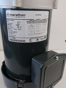 Marathon Electric Motor 1 Hp 3 Phase