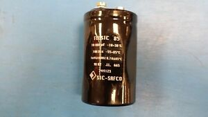 1pc Felsic85 Electrolytic Capacitor 10000 f 100v 100hz 10 30 Screw Terminal
