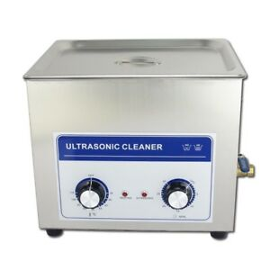10 8l Ultrasonic Professional Househould Industrial Cleaner Machine With Mechani