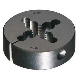 Round Die npt 1 2 Size Greenfield Threading 405327