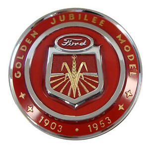 Hood Emblem Golden Jubilee Ford Naa Naa16600a Officially Licensed Priority Ship