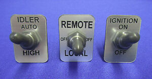 Lot Fits Lincoln Rig Welder Sa200 250 Toggle Switch Apm Hexseal