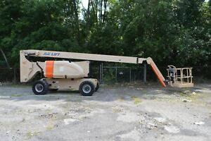 2010 Jlg 800aj 80 Boom Lift Manlift Aerial Knuckle Boom 80ft 4x4 Diesel