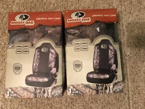 Set Of 2 Mossy Oak Universal Seat Cover Msc4421 Camo