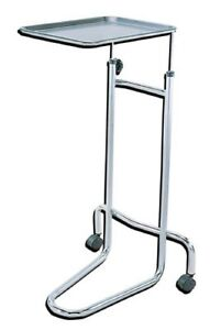 Drive Medical Mayo Instrument Stand W double Post Part No 13045