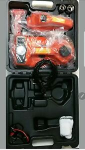 Electric Hydraulic Jack With Inflatable Pump And Impact Wrench 3 In 1