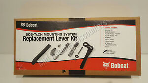 New Genuine Oem Bobcat 6724775 Bob tach Mounting System Replacemement Lever Kit