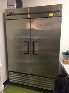 True T 49f Used 2 Door Reach In Freezer Stainless Freezer Used Freeze