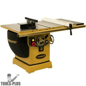 Powermatic Pm25150wk Pm2000b 230v 50 Rip Table Saw 5hp 1ph With Workbench New