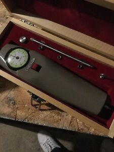 Vintage Chatillon Dial Push pull Force Gauge Dpp 10 With Box