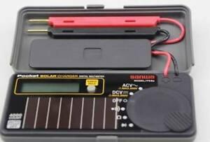 1pc New Sanwa Ps8a Solar Battery Pocket Size Multimeter Dmm 0 7