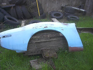 American Motors Drivers Side Front Fender 1971 74 Amx Javelin Some Rust Pitting