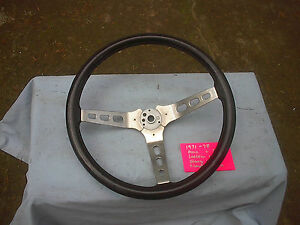 Amc Stock Jeep Amx Black Rally Sterring Wheel Will Fit Javelin Hornet Amx