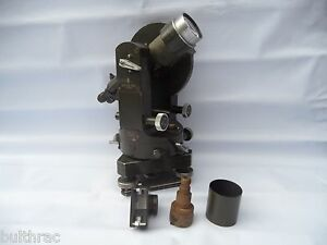 Rare Vintage Carl Zeiss Jena Dahlta 020 Theodolite Made In Germany 1950