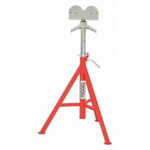 Ridgid 56672 Pipe Stand High Roller Head 1 8 To 12 In