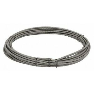Ridgid 37847 Drain Cleaner Cable Inner Core Male Coupling 3 8 In X 75 Ft