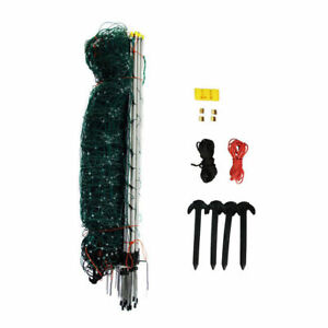 42 Tall Electric Netting Fence Kit Green 164 Sheep Dog Fencing 10 42 7