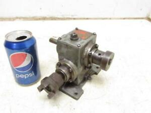 Boston Gears Model At13 Gear Box Transmission Speed Reducer Gearbox 5 1 Ratio