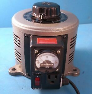 Tenma 72 110 Variable Transformer Bench 130vac 10a With Built in Ammeter