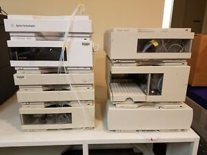 Agilent 1100 Hplc System With 1200 Iso Pump