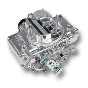 New Holley Carburetor 600 Cfm Polished 0 80457s Electric Choke 2 4160c
