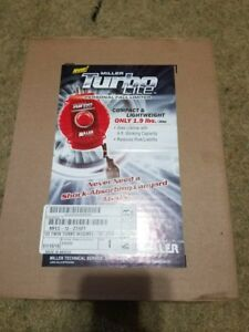 Miller Twin Turbo Lite Personal Fall Limiter Mflc 12 z7 6ft New Retractables