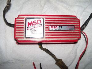 Msd 6t 6400 Ignition Box Serial 66418 Free Shipping