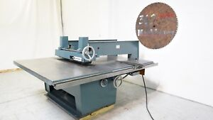 Diehl Sl 52 Wide Arm Glue Line Straight Line Rip Saw