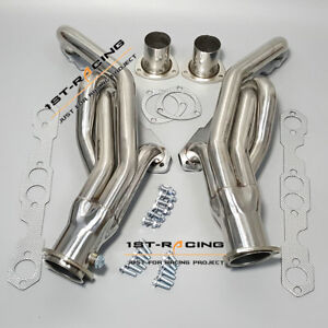 Exhaust Manifold Headers 88 97 Chevy Gmc C K Gmt400 5 0 5 7 V8 Pickup Truck Suv