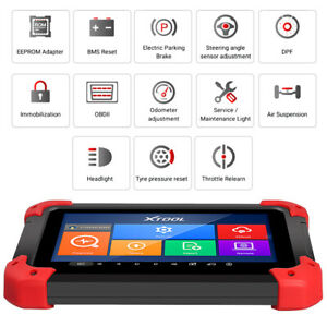 Usa Ship Xtool X 100 Pad Tablet Obd2 Scan Programmer Odometer Correction Eeprom
