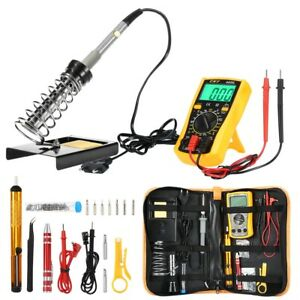 D60 Electronic Soldering Iron Kit With Temperature Control 200 450 Deg c