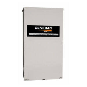 Generac Guardian 100 amp Automatic Transfer Switch W Service Disconnect