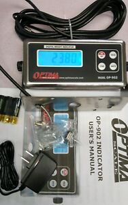 New Optima Op 902 Scale Digital Weighing Indicator tripp lite Spikecube