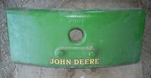 John Deere 40 420 430 Tricycle Tractor Front Weight Set M1854t M1844t