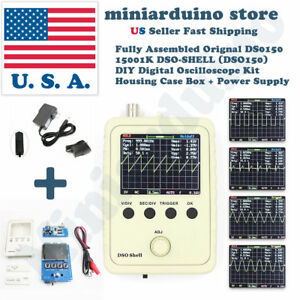 Dso150 15001k Digital Handheld Oscilloscope Kit Case Power Supply Dso shell